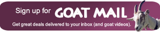 Sign up for Goat Mail